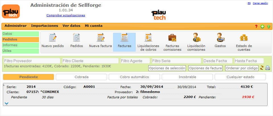 Gestion Sellforge